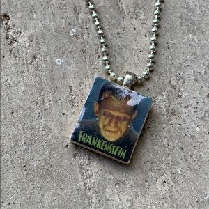 Frankenstein necklace.